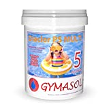 GYMASOL-Cloro Especial Mini Piscinas, 5 acciones, Tabletas...