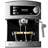 Cecotec Cafetera Express Manual Power Espresso 20. 850W,...