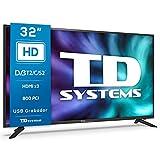 TD Systems K32DLG12H - Televisores 32 Pulgadas HD, 800 PCI...