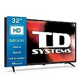 TD Systems K32DLK12H - Televisores 32 Pulgadas HD, 800 PCI...