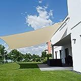 Sombra de Vela Rectangular 4x5m, toldo Exterior, Parasol de...