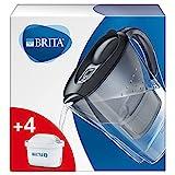 BRITA Marella Graphite - Jarra de Agua Filtrada con 4...