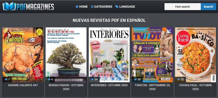 REVISTAS PDF EN ESPAÑOL